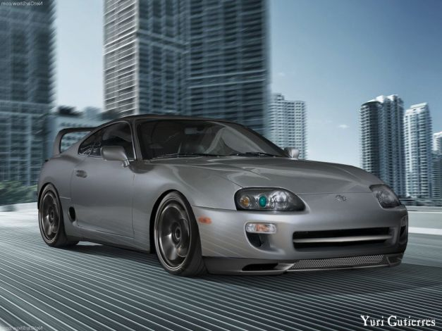 Toyota Supra Virtual Tuning By Yuri Gutierres