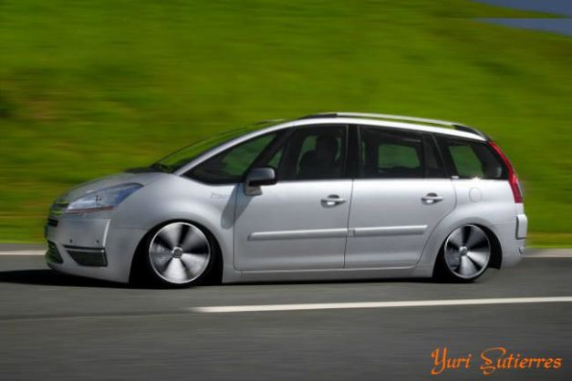 Citroen Grand C4 Rebaixada - Grand C4 Aro 17 - Grand C4 Rebaixada