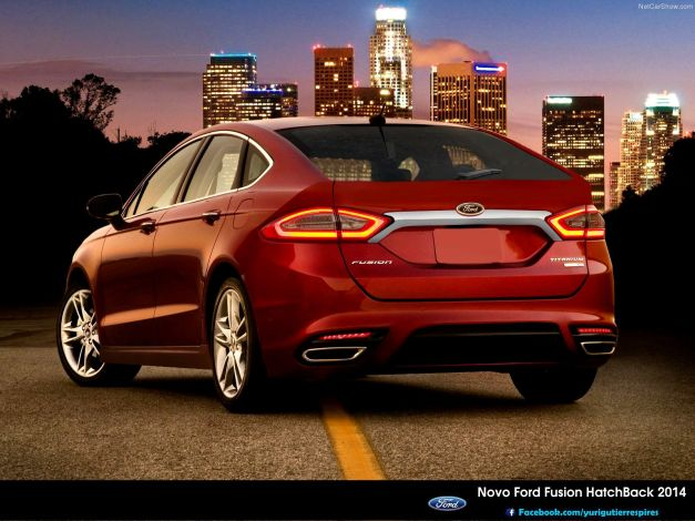 Novo Ford Fusion Hatch Back 2014 por Yuri Gutierres Design